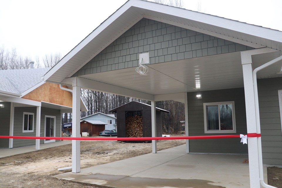 The Lheidli T'enneh First Nation reserve now includes six rental housing units for elders in need of a better, more efficient living space (via Kyle Balzer)