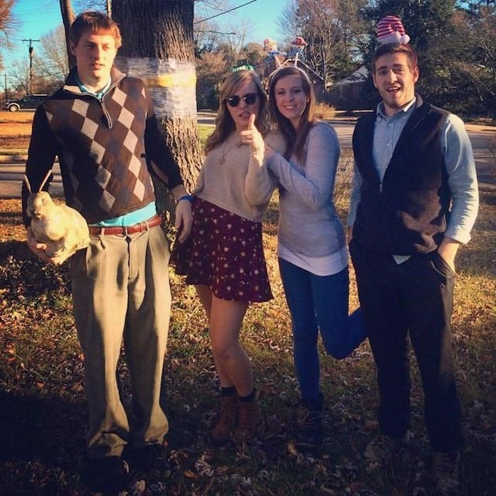 Stetson Deese with Chynna and siblings