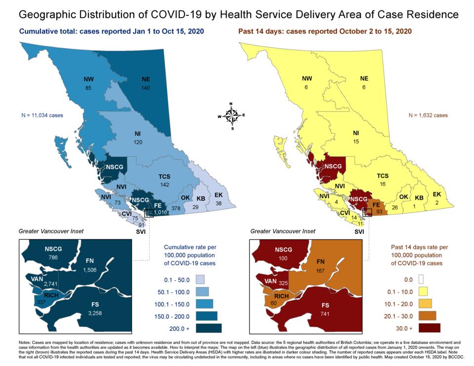 COVID 19 BCCDC report - Oct2 - Oct15