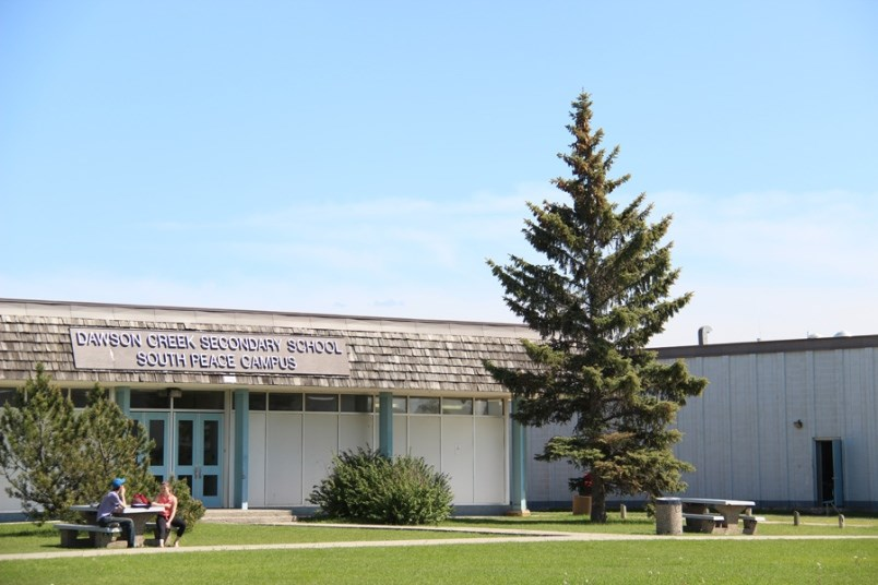 Dawson Creek Secondary South Peace campus Peace River South SD59