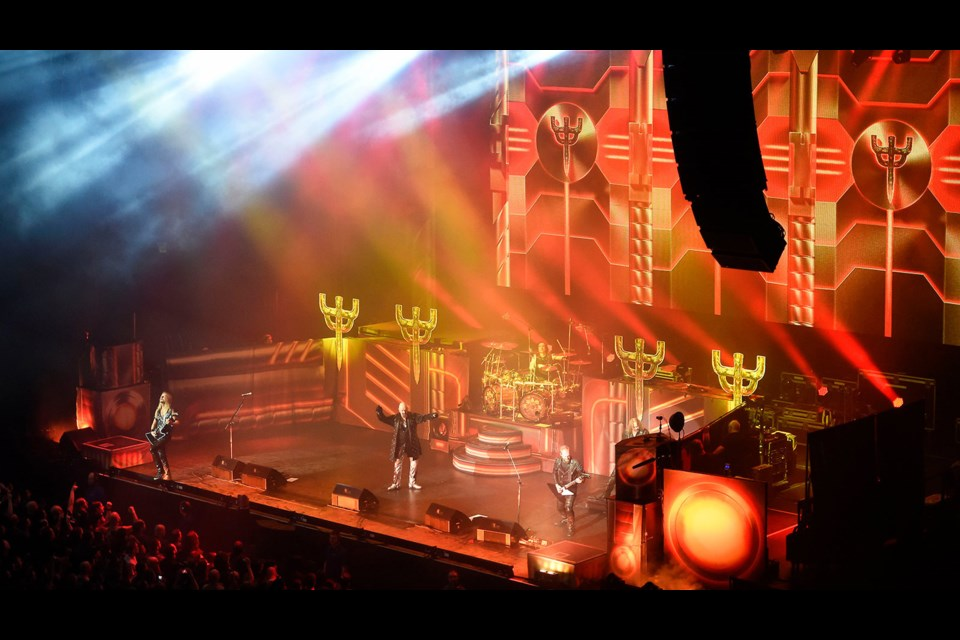 Legendary British heavy metal band Judas Priest live in concert (via Submitted)