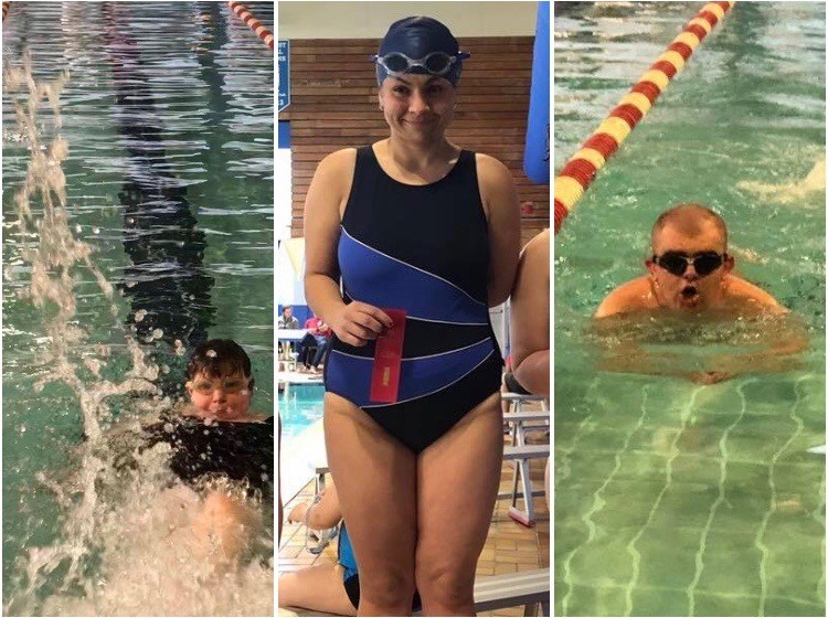 PG special olympics swimming - PR event