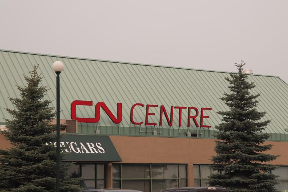 CN Centre in Prince George. (via File photo)