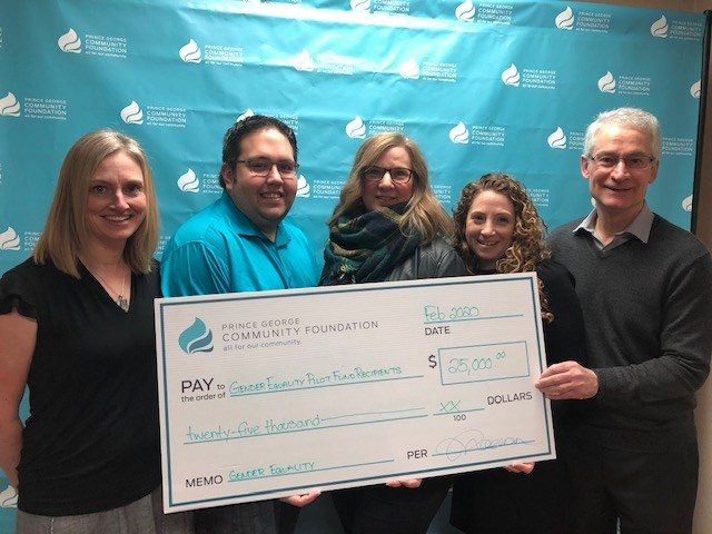 Through its participation in the Pilot Fund, the Prince George Community Foundation has granted $25,000 for three projects. (via Prince George Community Foundation)