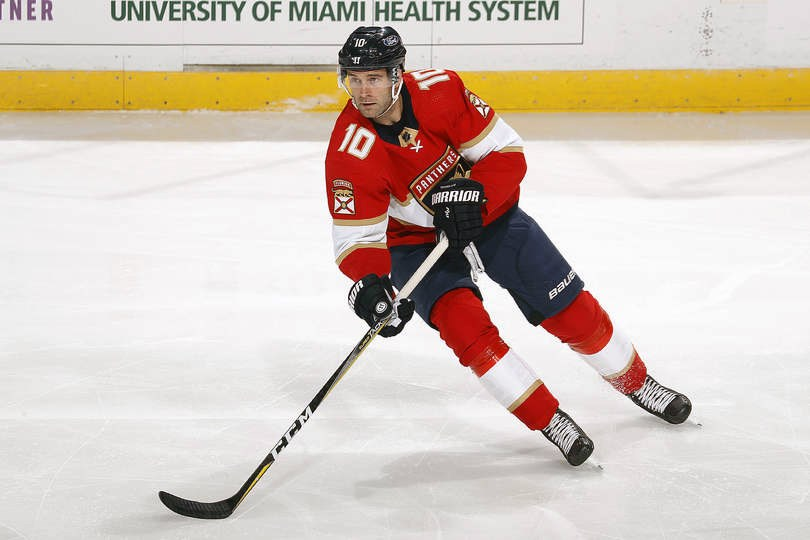 Prince George's Brett Connolly plays for the NHL's Florida Panthers.