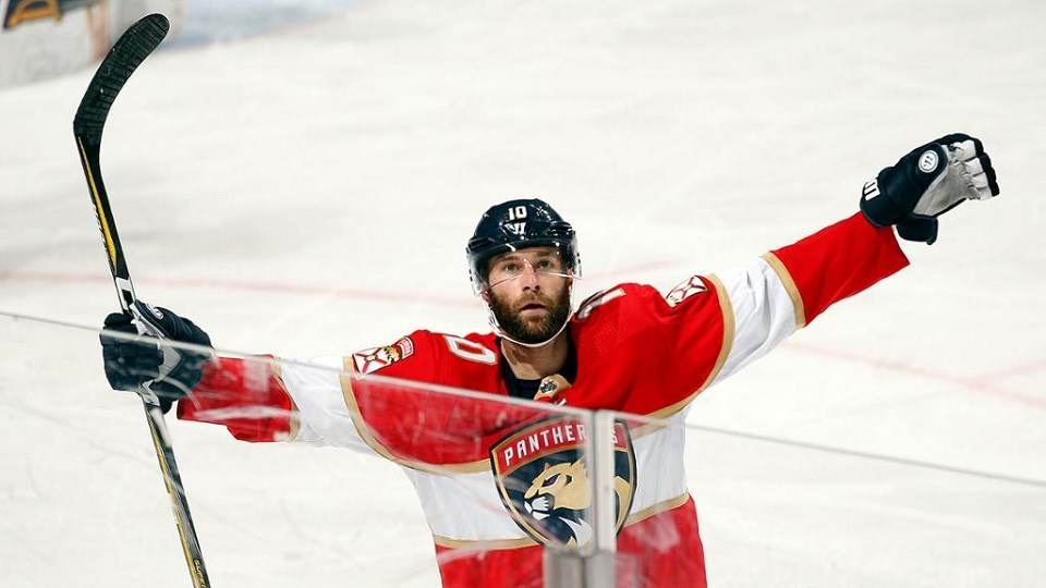 Brett Connolly of Prince George plays for the NHL's Florida Panthers.