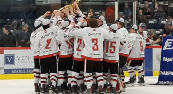 Cariboo Cougars 2019 champions 2