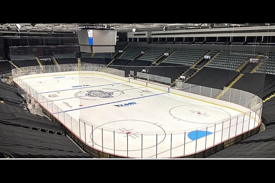 The Abbotsford Centre is where the Cariboo Cougars' U-15, U-16 and U-18 hockey teams will play in the 2020 Cohort Cup. (via Fraser Valley Thunderbirds)