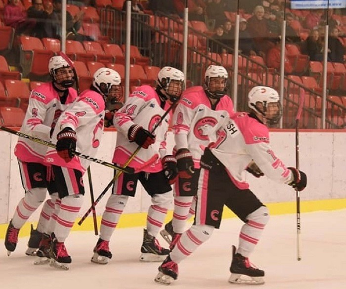 Cariboo Cougars-Pink in Rink 2019