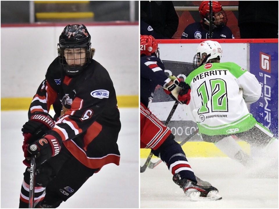 Cariboo Hockey - Brady McIsaac Jaydon Merritt