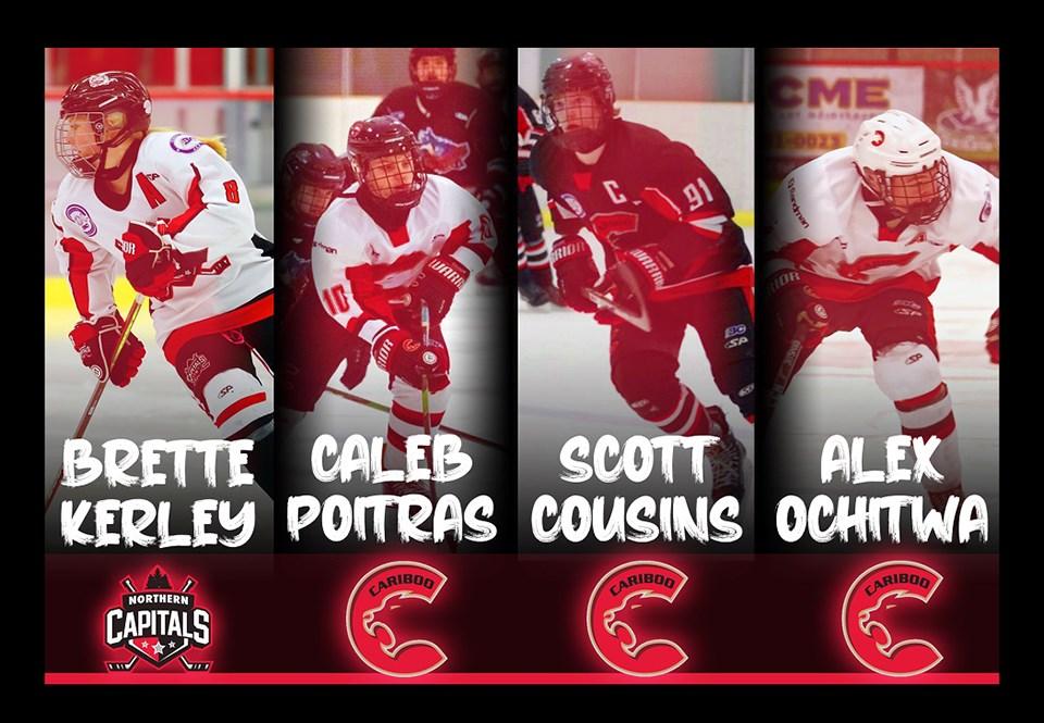 Cariboo Hockey all-stars