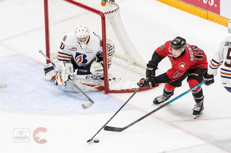 Cougars-Blazers-Browne 2018 home red