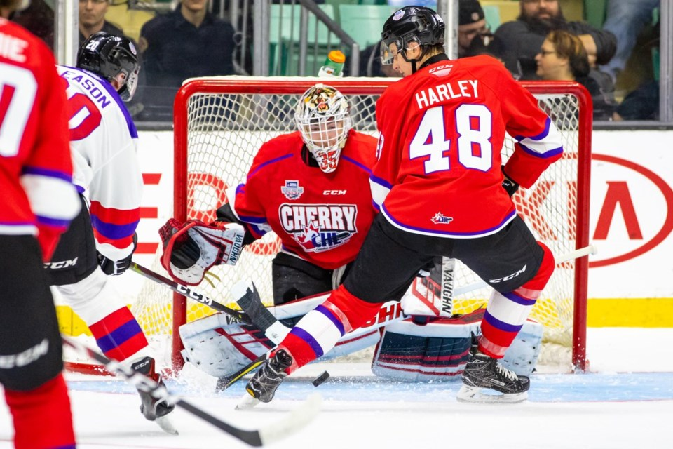 Cougars-Gauthier-Prospects Game