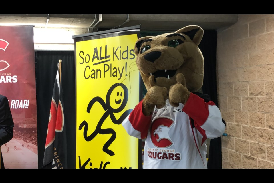 Prince George Cougars partners with KidSport B.C. for the Habit Hack Challenge during the 2019-20 season (via Kyle Balzer)