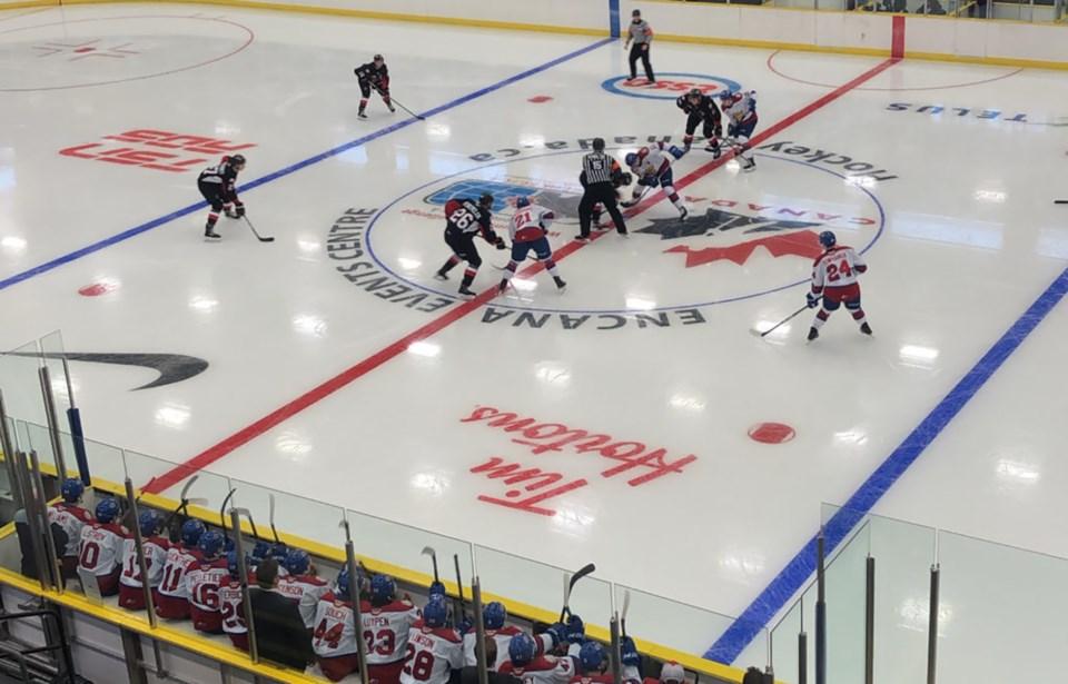 Cougars-Oil Kings Dawson Creek game 2019