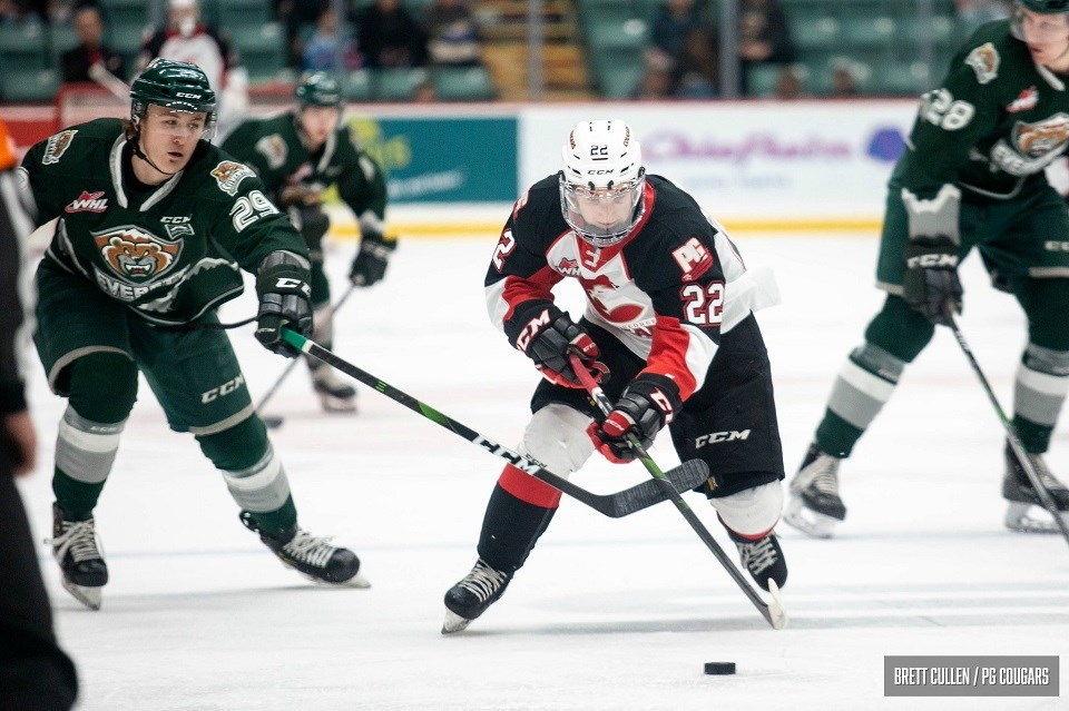 Cougars-Silvertips-Armstrong 2020 home