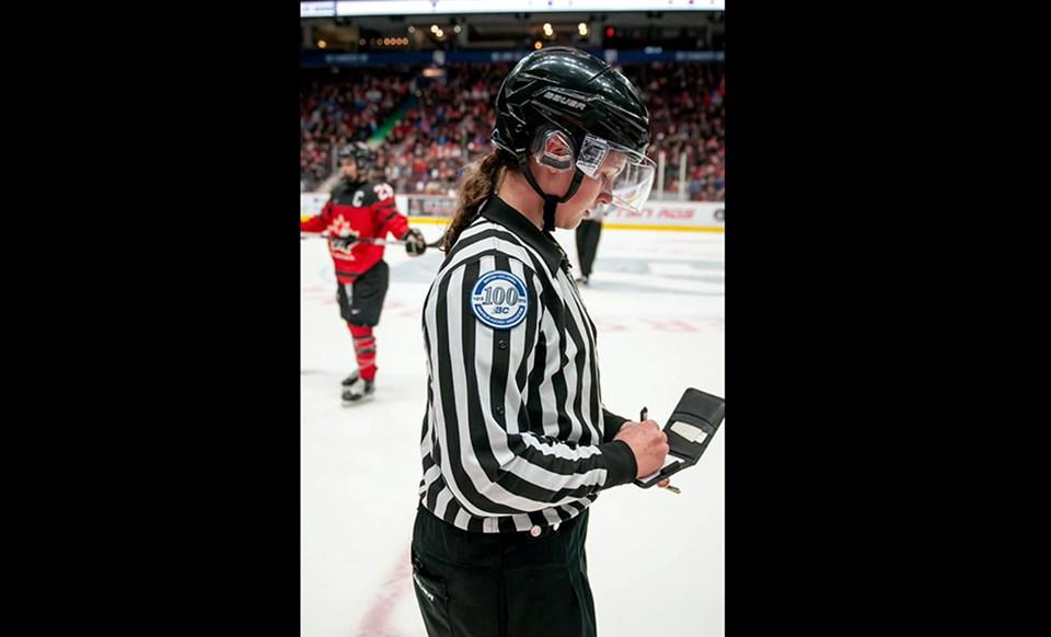 Prince George's Danika Kroeker was selected to line two games in the Canada-USA rivalry series in February 2020. (via Facebook/Danika Kroeker)