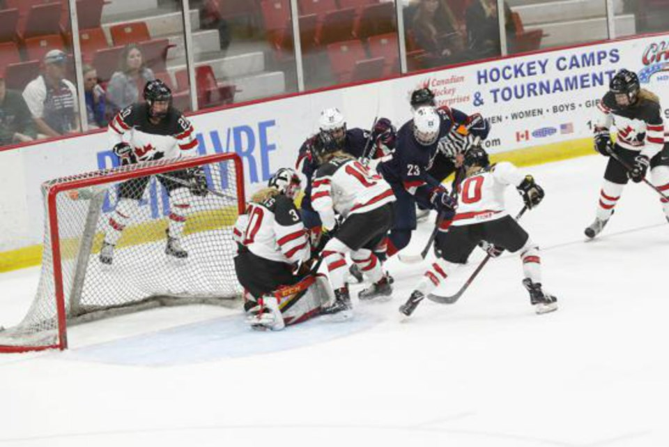 Kelsey Roberts - Team Canada 3 usa
