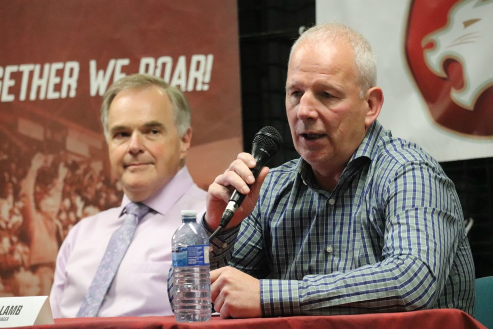 Mark Lamb was introduced as the Prince George Cougars General Manager and Head Coach on July 4, 2019 (via Kyle Balzer)
