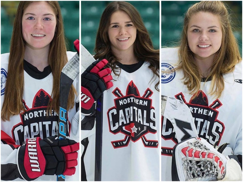 Northern Capitals women's aboriginal players