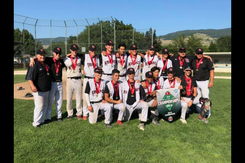 The Prince George Surg Med Midget Knights are the 2019 B.C. Minor Baseball champions after going undefeated in Kelowna (via Prince George Midget Knights)