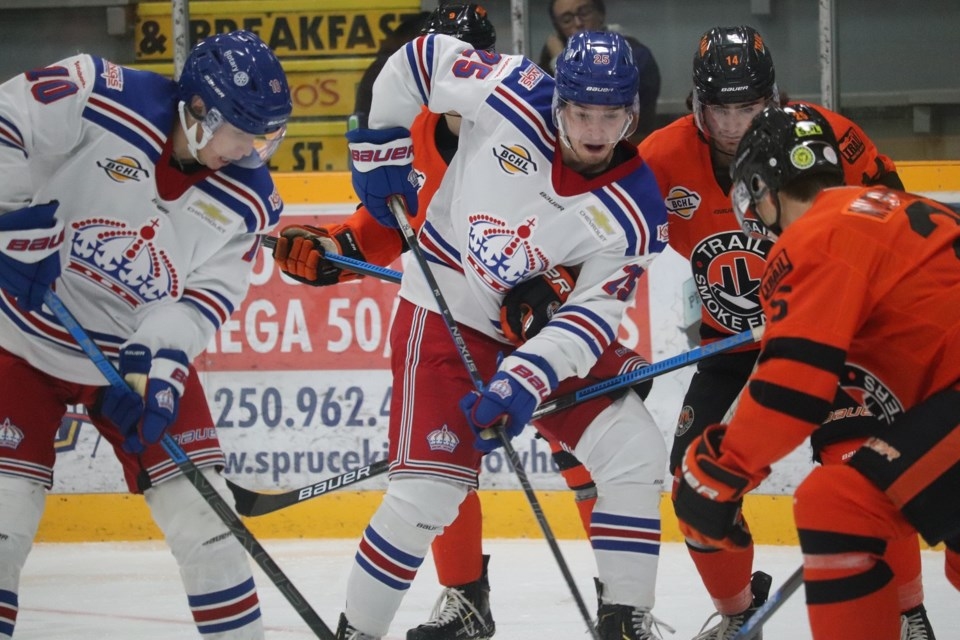 Spruce Kings-Smoke Eaters-Brodziak 2019 home