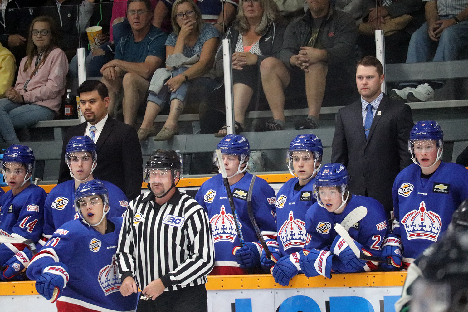 Nanaimo wins shootout contest despite Prince George Spruce Kings' completed comeback