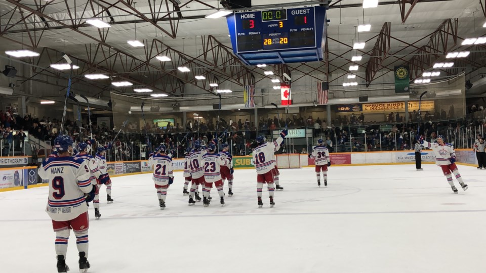 Spruce Kings-Doyle Cup-RMCA game four win