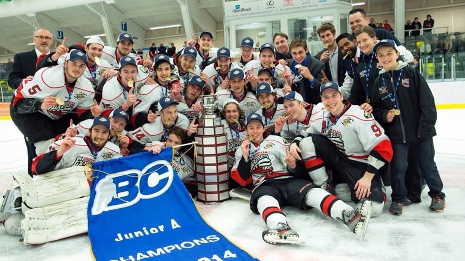 Craig Carter - 2014 Coquitlam Express Fred Page Cup