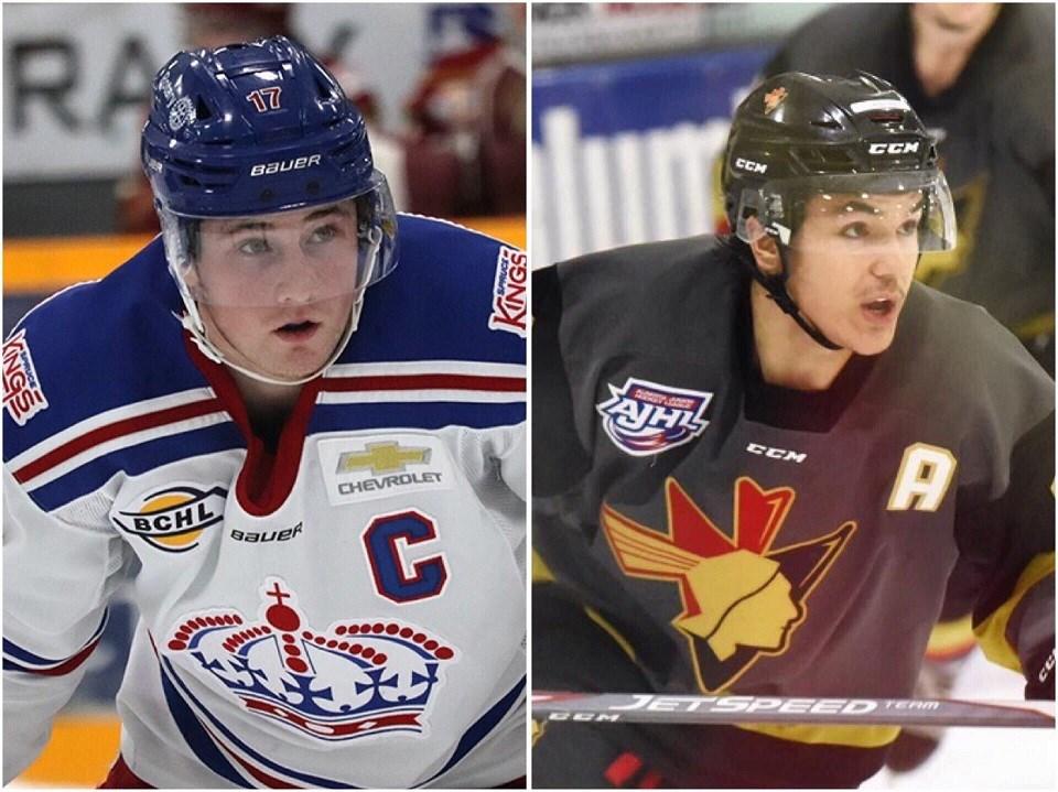 Nolan Welsh-Daine Dubois PG hockey