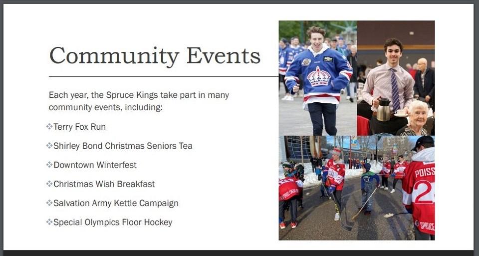 Spruce Kings city presentation 2 - Oct. 5, 2020