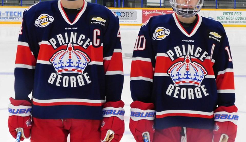Spruce Kings reverse retro jersey
