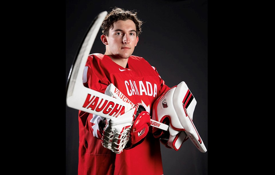 Prince George Cougars goaltender Taylor Gauthier represented Canada at the 2021 World Junior Hockey Championships in Edmonton.