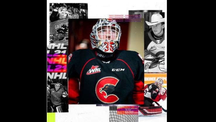 Taylor Gauthier - Prince George Cougars NHL 21 cover athlete