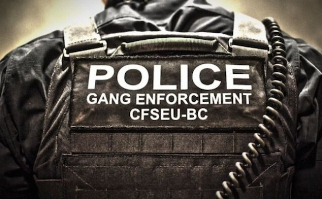 Anti-gang unit CFSEU-BC
