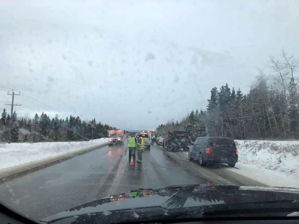 Highway 16 incident - Feb. 26, 2021