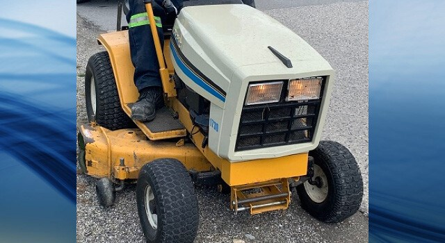 lawn tractor RCMP