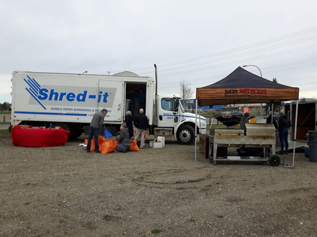 PG Crime Stoppers Shred It event