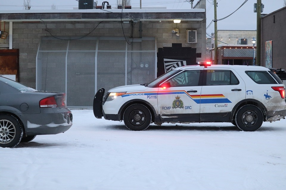 Prince George RCMP cruiser vehicle