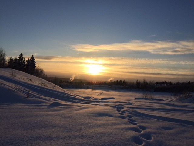 Rosemaire's sunrise