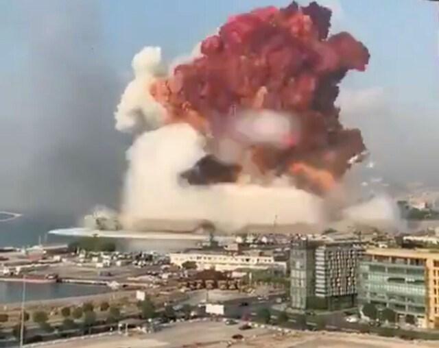 Beirut explosion - Aug. 4, 2020