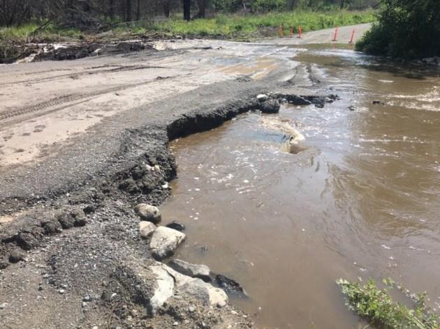 Chilcotin River flooding