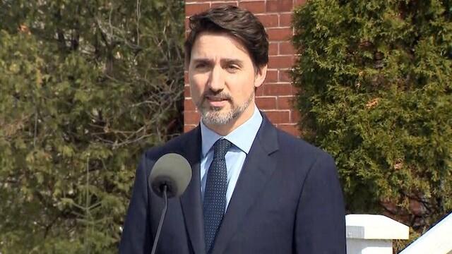 Justin Trudeau - Rideau Cottage COVID19 update - March 26, 2020