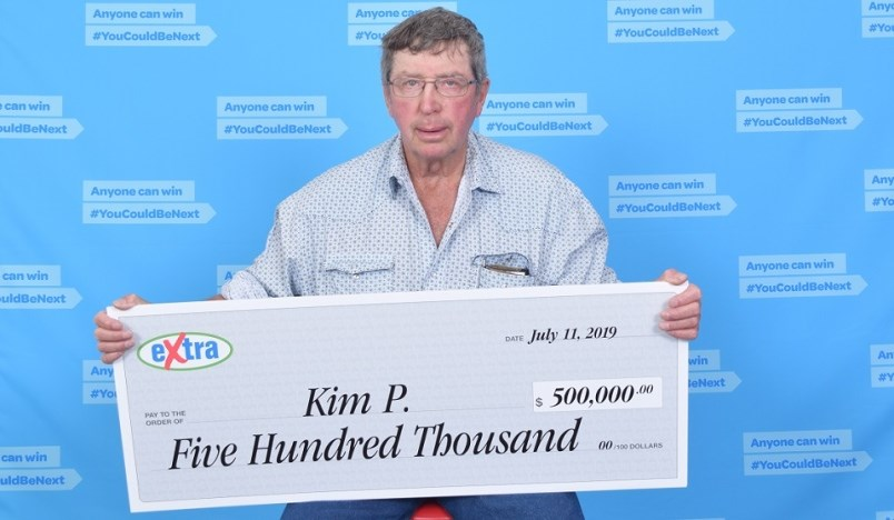Kin Peck - Lotto Max winner Fort St. John
