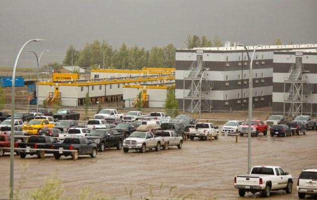Site C work camp