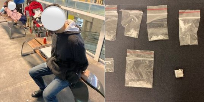 transit-police drugs nex to toddlers