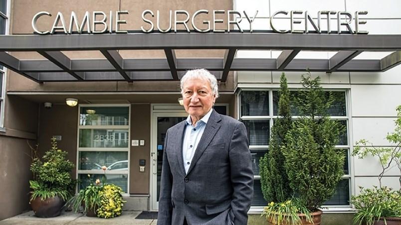 Vancouver orthopaedic surgeon Brian Day
