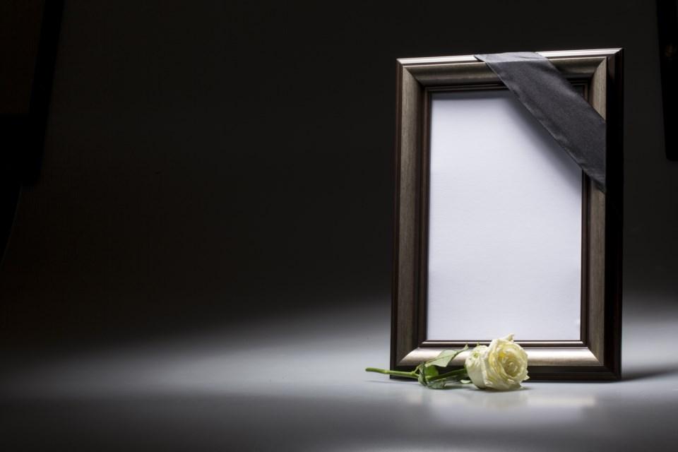 Obituary stock