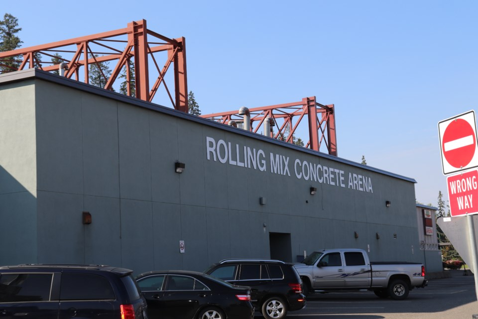Rolling Mix Concrete Arena, a city-owned and operated arena, is home to the Prince George Spruce Kings. (via Hanna Petersen, PrinceGeorgeMatters).