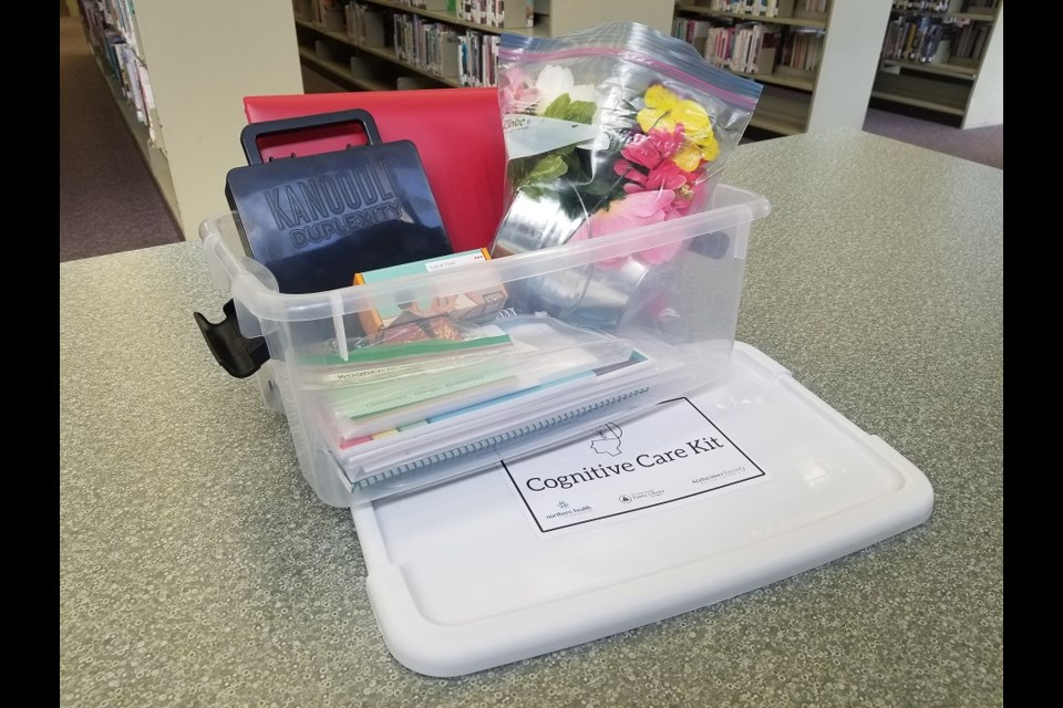 New cognitive development kits were made possible via a $6,000 grant to the Prince George Public Library from the United Way of Northern BC.